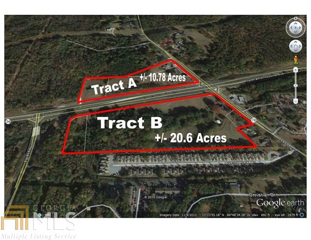 0 Corner Roscoe Rd Nw And Sr 34 Bypass, #TRACT B, Newnan, GA 30263
